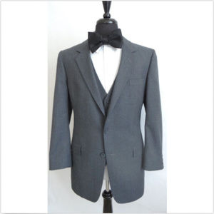 Christian Dior Wool Pin Stripe Blazer and Vest